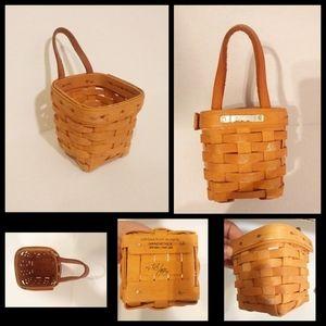 Longaberger thyme basket